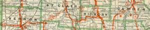1926 HWY 54 ROAD MAP